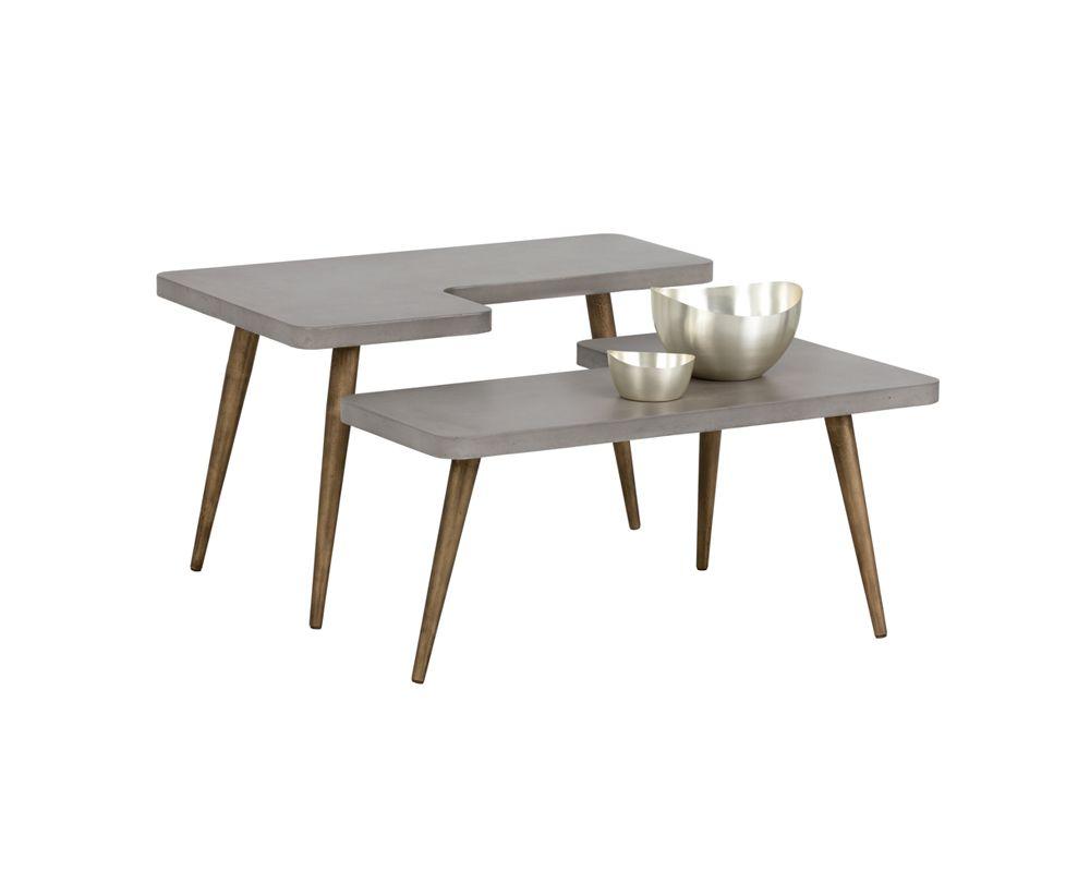 Loupe Coffee Table Set Of 2 Metro Element