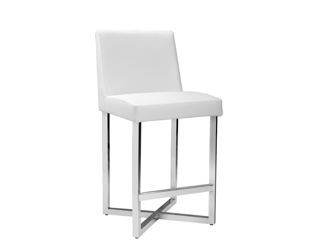 Howard Counter Stool White Metro Element