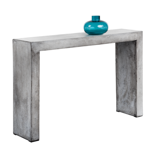 AXLE CONSOLE TABLE – GREY