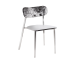 STANLEY DINING CHAIR – COWHIDE BACK