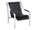 CANBERRA CHAIR – BLACK LEATHER