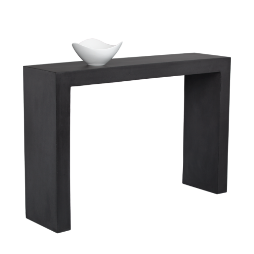 AXLE CONSOLE TABLE – BLACK