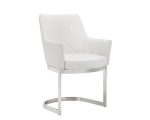 CHASE CANTILEVER DINING CHAIR – WHITE