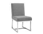 MILLER DINING CHAIR – MARBLE FABRIC