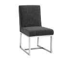 MILLER DINING CHAIR – QUARRY FABRIC