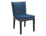 VINTAGE DINING CHAIR – INK BLUE FABRIC