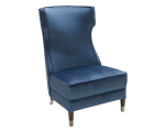 FRANCES CHAIR -INK BLUE FABRIC