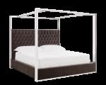 DALTON BED – QUEEN – GIOTTO GREY FABRIC