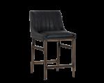 HALDEN ARMLESS COUNTER STOOL – RUSTIC BRONZE – VINTAGE BLACK