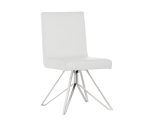 CLOUSE SWIVEL DINING CHAIR – WHITE