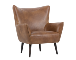 LUTHER OCCASIONAL CHAIR – TOBACCO TAN