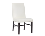 BROOKE DINING CHAIR – IVORY LEATHER