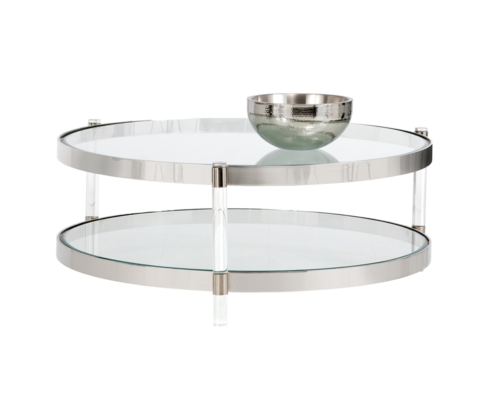 York Coffee Table Lucite Metro Element