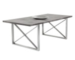 CATALAN DINING TABLE – CONCRETE – 82.5?