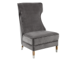 FRANCES CHAIR – RL – GREY FABRIC