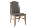 MAISON DINING CHAIR – RL – GREY LEATHER