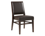 CITIZEN DINING CHAIR – BROWN LEATHER