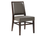 CITIZEN DINING CHAIR – GREY LEATHER