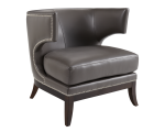 NAPOLI CHAIR – GREY LEATHER