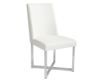 HOWARD DINING CHAIR – WHITE