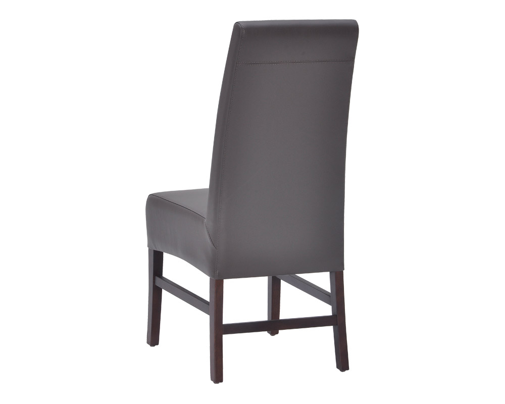 habitat dining chair grey leather metro element. Black Bedroom Furniture Sets. Home Design Ideas