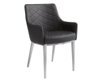 CHASE ARMCHAIR – BLACK