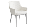 CHASE ARMCHAIR – WHITE