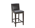 BROOKE COUNTER STOOL – GREY LEATHER