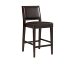 CITIZEN COUNTER STOOL – BROWN LEATHER