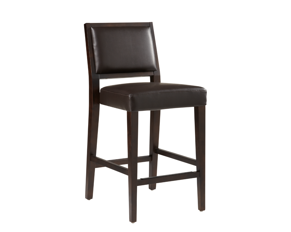 Citizen Counter Stool Brown Leather Metro Element