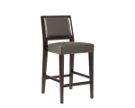 CITIZEN COUNTER STOOL – GREY LEATHER