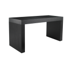 FARO C-SHAPE COUNTER TABLE – BLACK