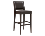 CITIZEN BARSTOOL – BROWN LEATHER