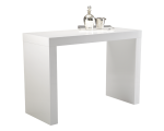 FARO C-SHAPE BAR TABLE – WHITE
