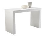 FARO C-SHAPE COUNTER TABLE – WHITE