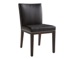 VINTAGE DINING CHAIR – BROWN LEATHER