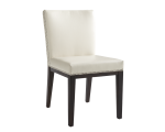 VINTAGE DINING CHAIR – CREAM LEATHER