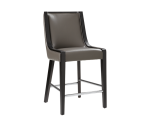 NEWPORT COUNTER STOOL – GREY LEATHER
