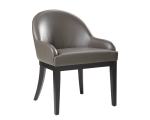 HAVEN DINING CHAIR – GREY LEATHER
