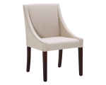 LUCILLE DINING CHAIR – LINEN FABRIC