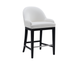 HAVEN COUNTER STOOL – IVORY LEATHER