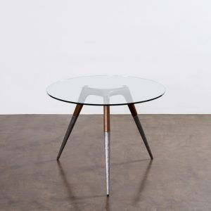 Assembly Bistro Table Clear
