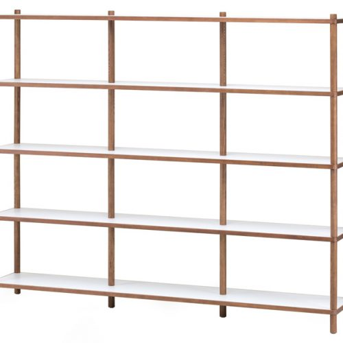 Justin Display Shelving White