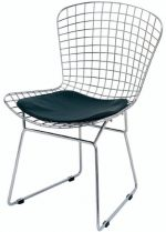 Wireback Dining Chair Black