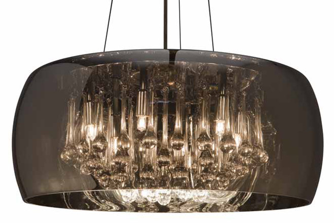 Alain Pendant Lighting Silver