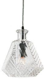 Cognac Pendant Lighting Clear