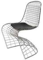 Swerve Dining Chair Silver