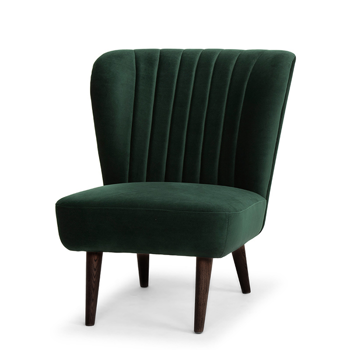 Alicia Occasional Chair Emerald Green Metro Element