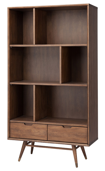 Baas Bookcase Shelving Walnut