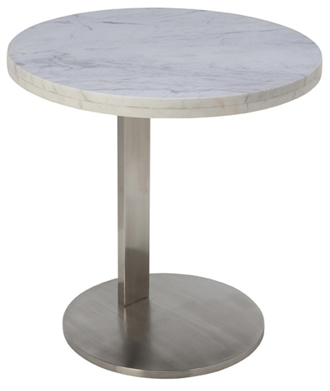 Alize Side Table White